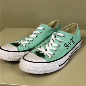 Embroidered converses